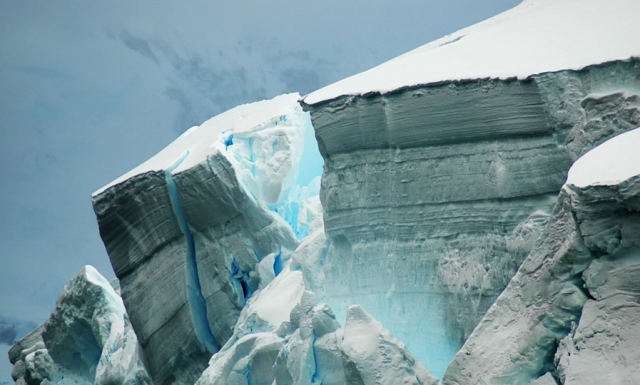Collapse of Antarctic ice shelves could lead to dramatic sea level rise. The Guardian